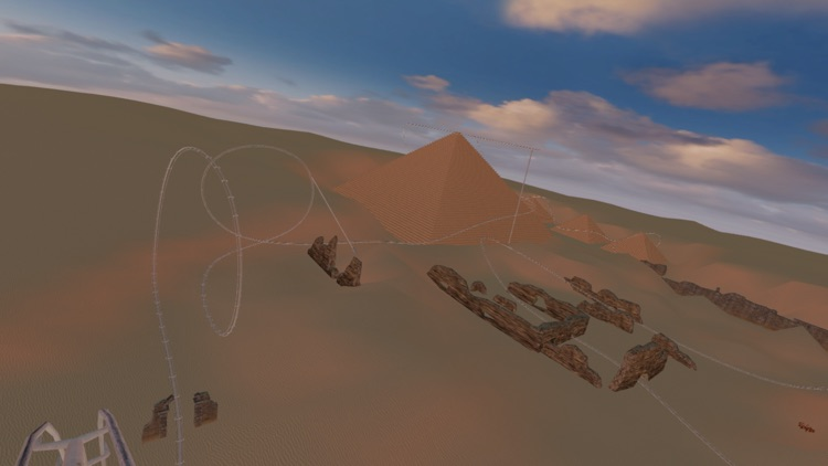 Roller Coaster Egypt - VR Virtual Reality screenshot-4