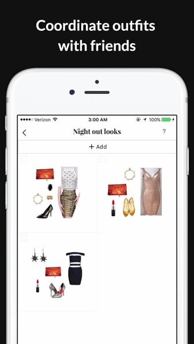 GlamOutfit closet organizer & outfit planner screenshot four