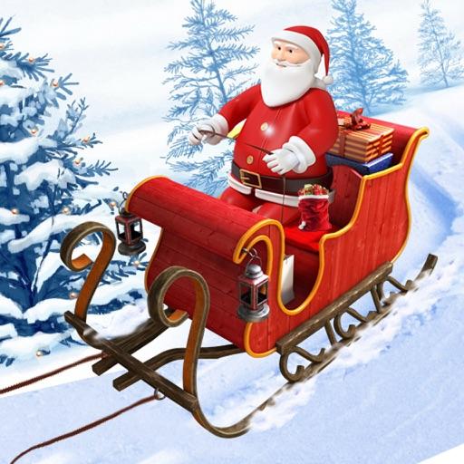 santa christmas gift cart : xmas gifts free game