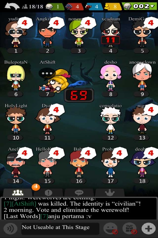 Werewolf Party Game Online Game Hack And Cheat Gehack Com