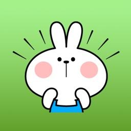 The Bunny Brat Apron Stickers