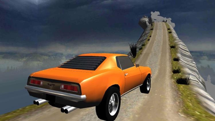 Hill Car Racing Simulator 3D: Mustang Offroad screenshot-3