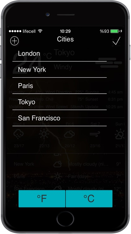 Weather App with 10 Days Forecast screenshot-4