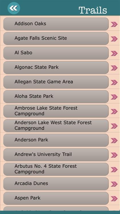Michigan State Campgrounds & Hiking Trails screenshot-3