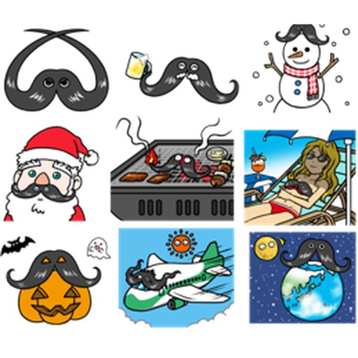 Beard Beard Everywhere Sticker icon