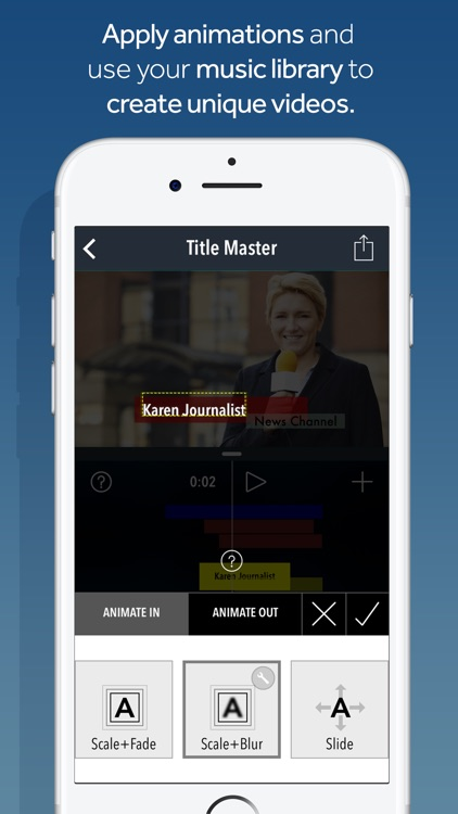Title Master - Animated text and graphics on video screenshot-3