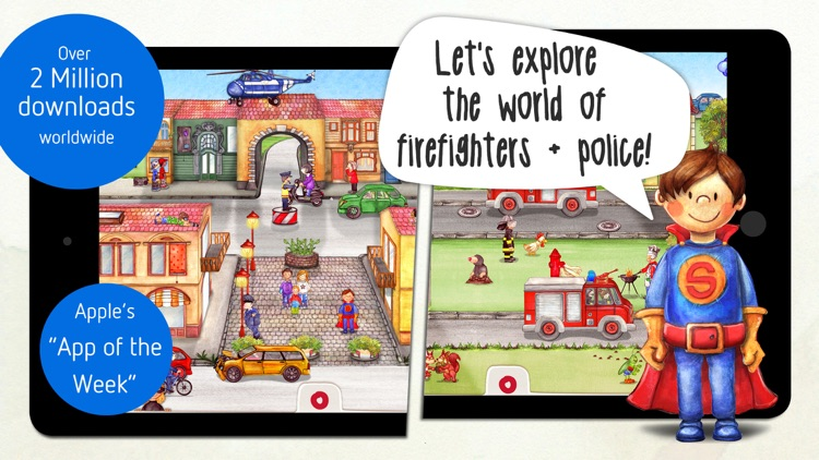 Tiny Firefighters: Police & Firefighters for Kids screenshot-0