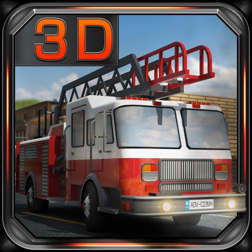 Fire Truck Dash 3D Parking iOS App