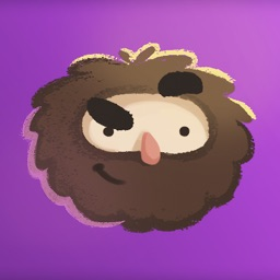 Space Caveman Stickers