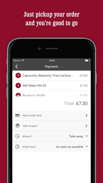 Costa Coffee - Quick Service screenshot four