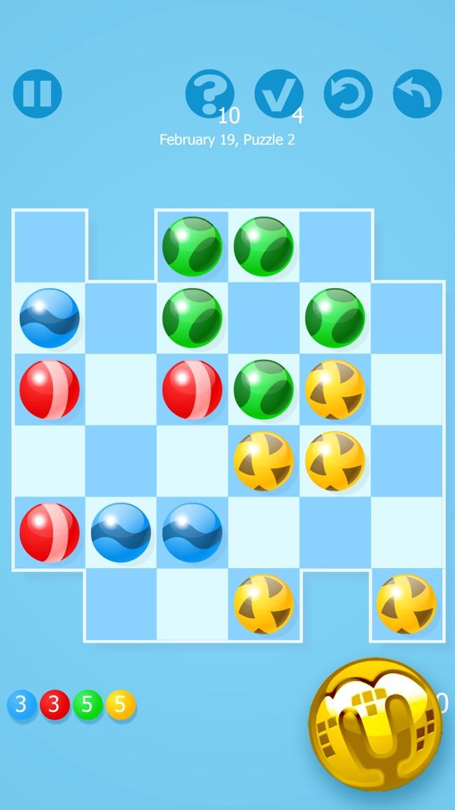 Marbly - Puzzle Game Challenge from Tetris Creator Screenshot