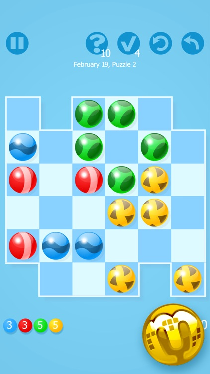Marbly - Puzzle Game Challenge from Tetris Creator screenshot-3