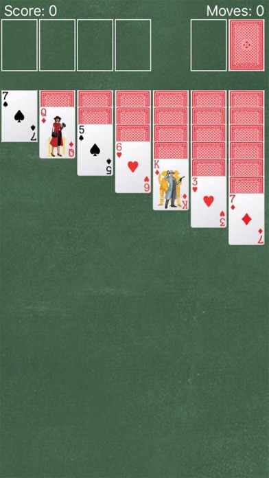 + Solitaire > Screenshot