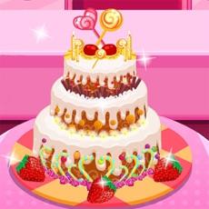 Activities of Anna Cooking Frozen Cake Chocolate maker Games