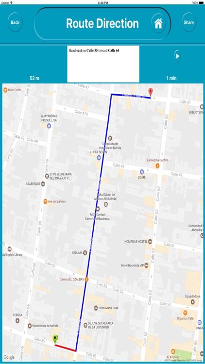 Merida Mexico Offline City Map Navigation screenshot-4