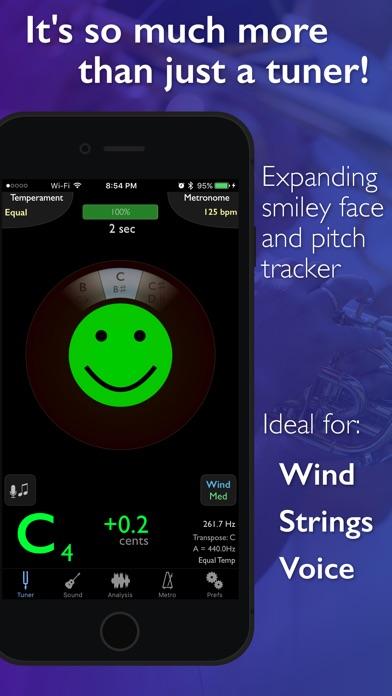 TonalEnergy Tuner & Metronome Screenshot