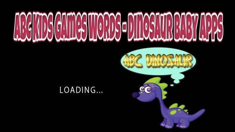 ABC Kids Games Words - Dinosaur Baby Apps screenshot-4