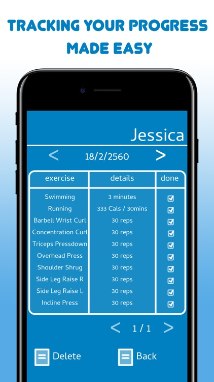 Stronger Than Yesterday: Workout Log for Fitness screenshot-3