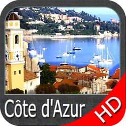 Boating French Riviera GPS HD nautical map fishing
