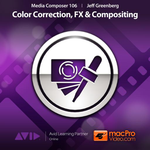 Course For Media Composer 6 Color,FX & Compositing
