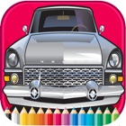 Car Cassic Coloring Book - Activities for Kid icon