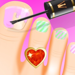 Princess Nail Spa - Girls Salon and Makeover Games