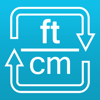 Feet to centimeters and cm to ft length converter