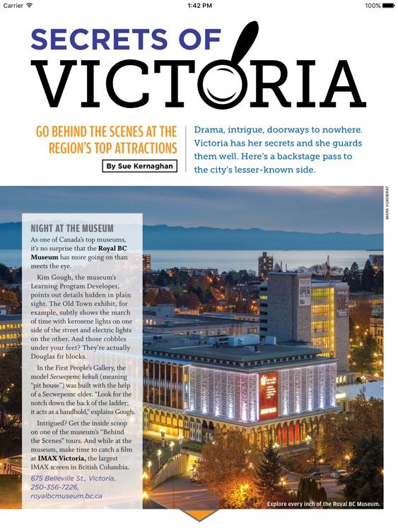 Victoria Official Vacation Guide 2017