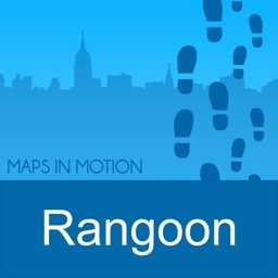 Rangoon on Foot: Offline Map