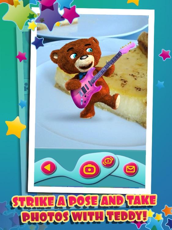 Talking Teddy Bear HD Premium screenshot-3