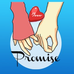 Promise Of Love On Valentine's Day Stickers