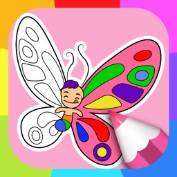 butterfly coloring pages for kids - Crayola Color Alive Special Pages
