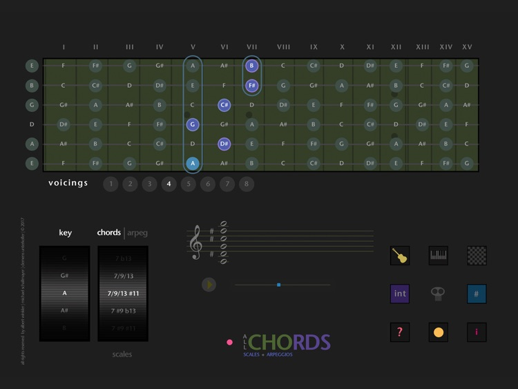 All Chords - Scales & Arpeggios screenshot-0