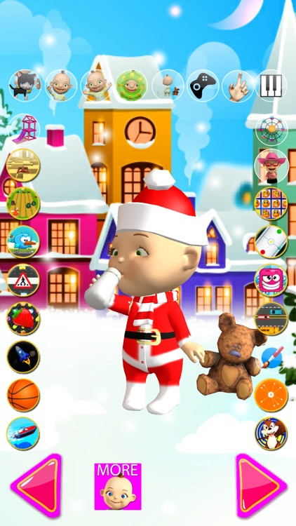 Talking Babsy Baby Xmas Games screenshot-3