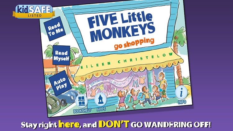 Five Little Monkeys Go Shopping screenshot-0