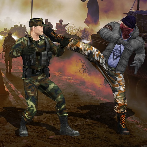 Army Karate Fighting 3D