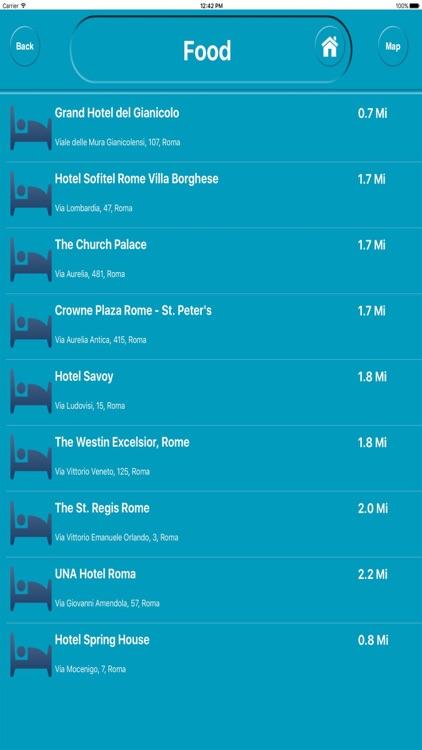 Rome Italy Offline City Maps with Navigation screenshot-3