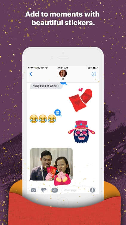 Lai See - Chinese New Year Stickers for iMessage screenshot-1