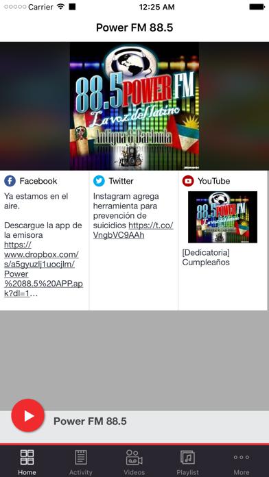 Power FM 88.5 screenshot one
