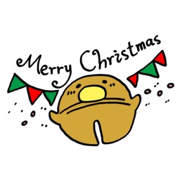 GUJI'S CHRISTMAS − NHH Stickers