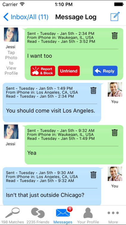 Dating DNA - #1 Date App for iPhone screenshot-3