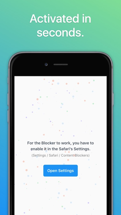 Adblocker – Block ads, surf faster, save battery