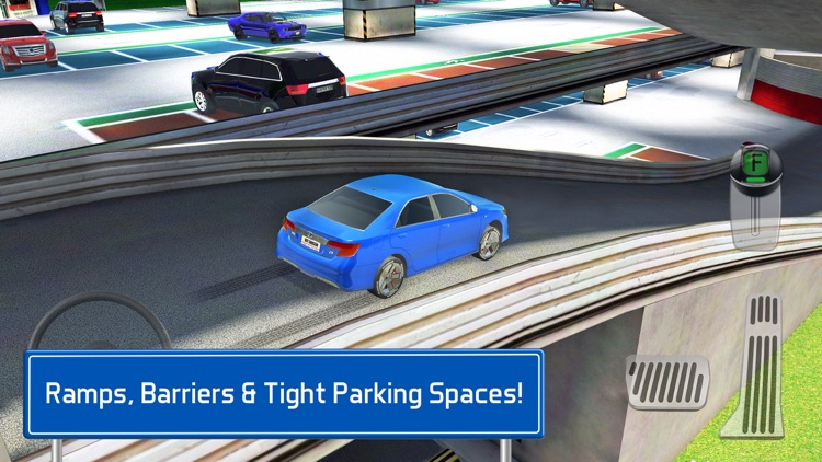 Multi Level 7 Car Parking Garage Park Training Lot
