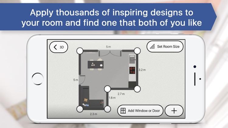 3D Living Room for IKEA: Interior Design Planner screenshot-3