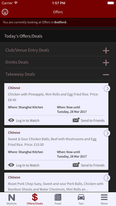 MyNyte (the All-in-One Evening Planning App) screenshot three