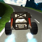 Car Hill On The Road 3D icon
