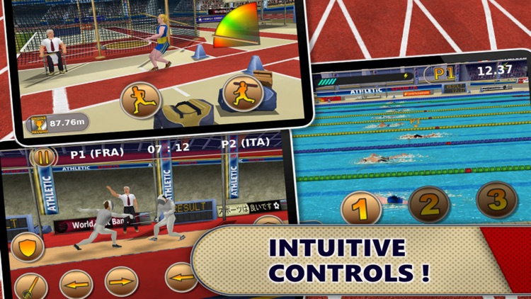 Athletics: Summer Sports screenshot-3