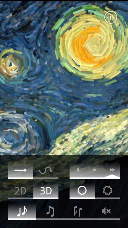 Starry Night Interactive Animation screenshot-3