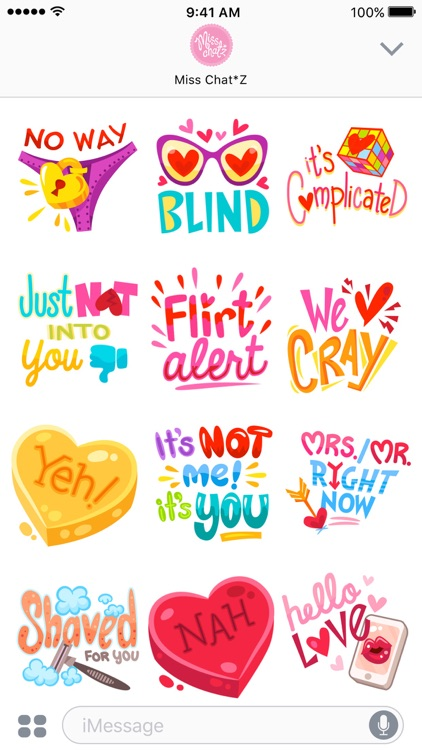 Love Sticker Set