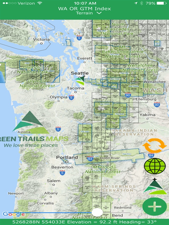 Green Trails Maps - Mapps on the App Store